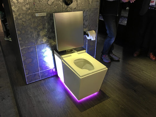 "Newly introduced Smart Toilet selling for R95 000 per set: The Kohler Numi 2.0 ""intelligent toilet"""