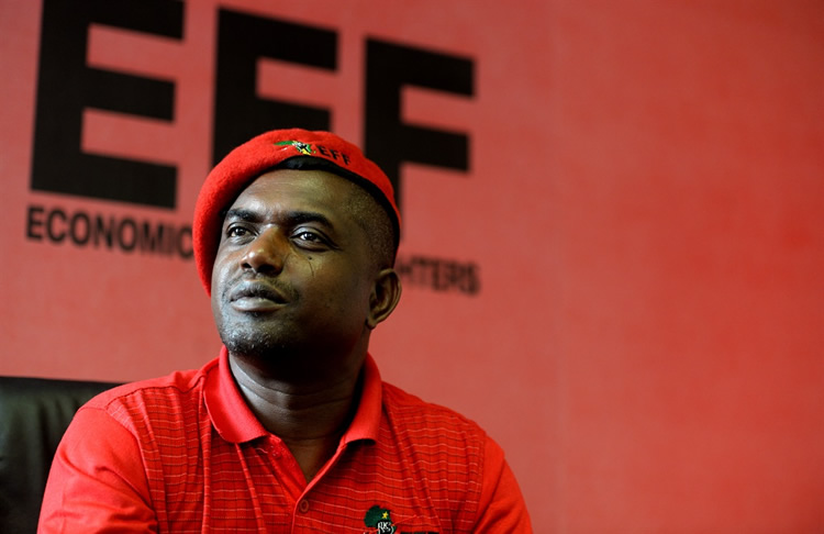 EFF's Secretary General Godrich Gardee robbed at knife point