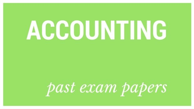 DOWNLOAD: Grade 12 Accounting past exam papers and memorandums