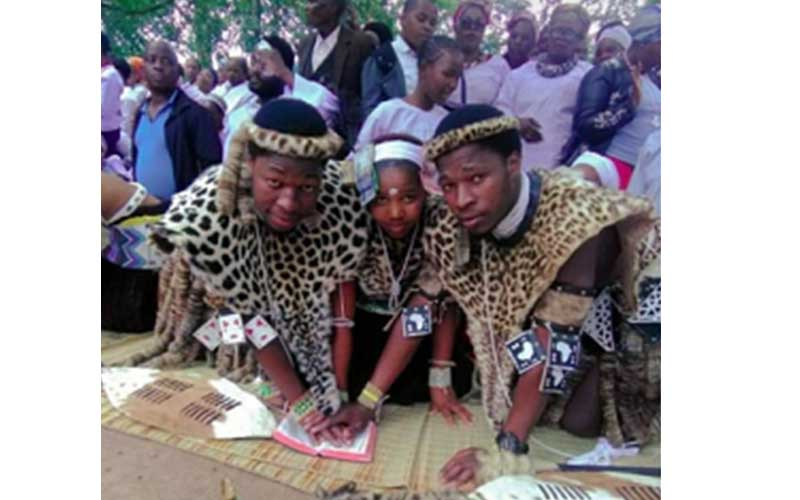 Kzn Young Woman Married Twin Brothers In A Traditional Wedding