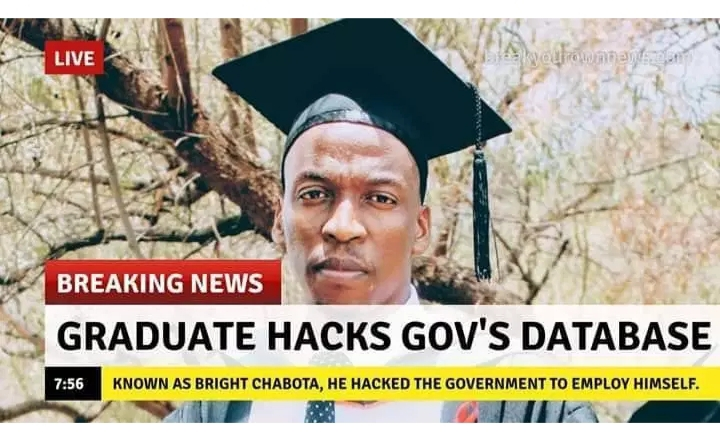 IT Graduate hacked government database and employed himself