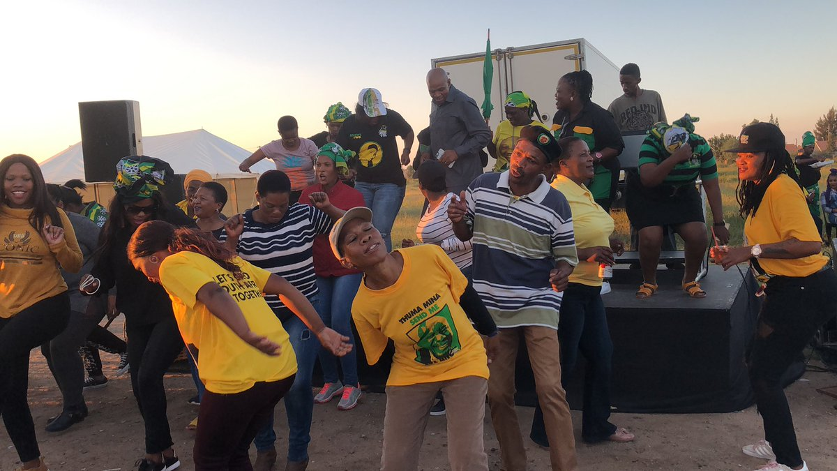 ANC wins North West with 61.87 percent. Counting done