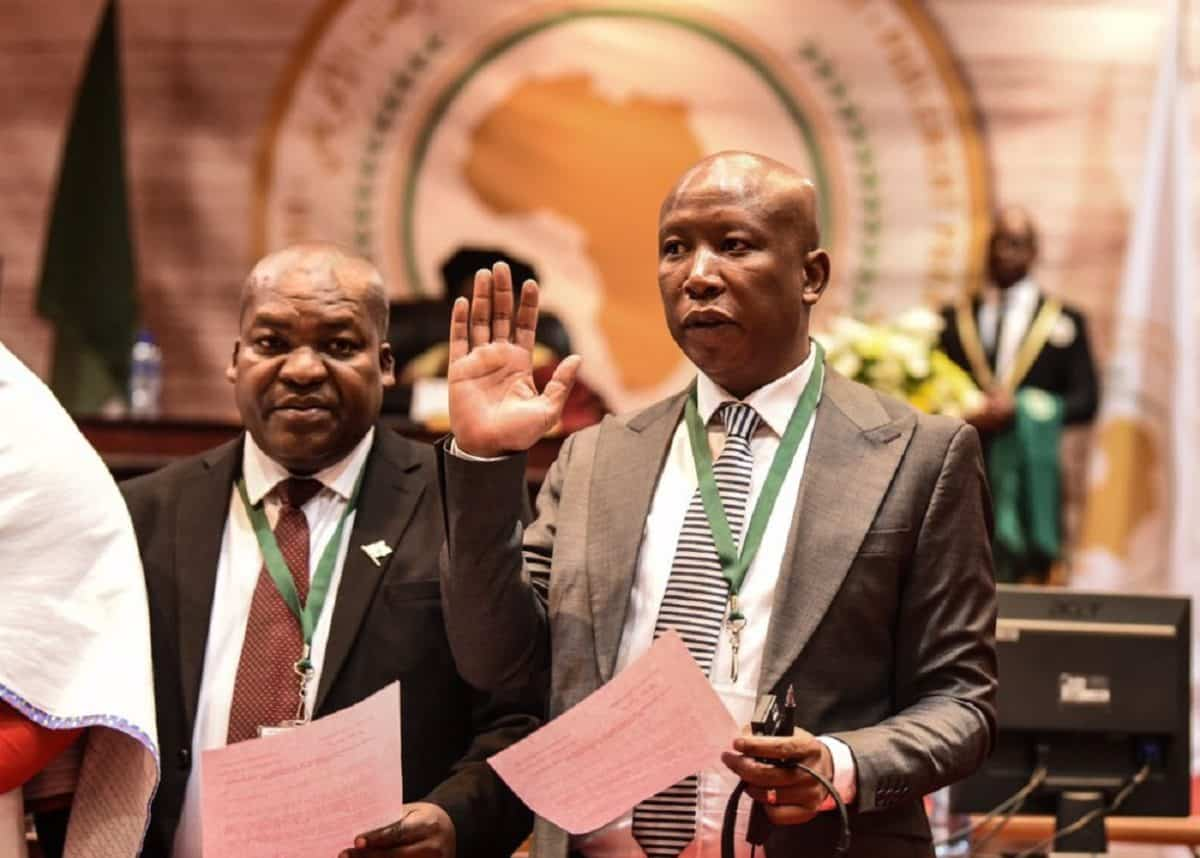 Julius Malema officially sworn-in: EFF joins Pan-African Parliament