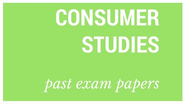 Download  Grade 12 Consumer Studies Past Exam Papers And